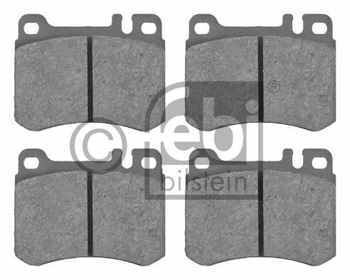 Kit de plaquettes de frein, frein à disque - FEBI BILSTEIN - 16246