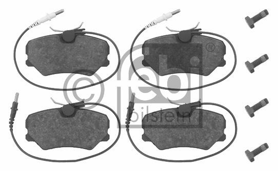 Kit de plaquettes de frein, frein à disque - FEBI BILSTEIN - 16258