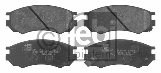 Kit de plaquettes de frein, frein à disque - FEBI BILSTEIN - 16266