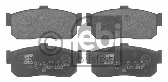 Kit de plaquettes de frein, frein à disque - FEBI BILSTEIN - 16271
