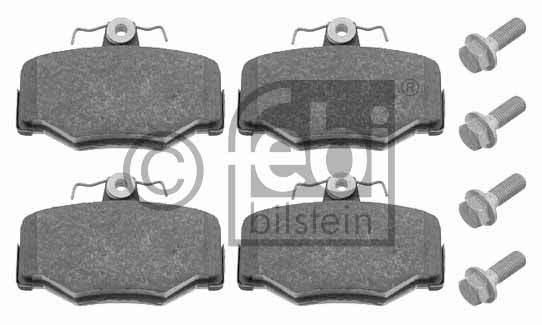 Kit de plaquettes de frein, frein à disque - FEBI BILSTEIN - 16274