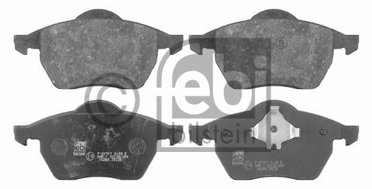 Kit de plaquettes de frein, frein à disque - FEBI BILSTEIN - 16280