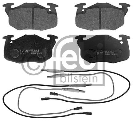 Kit de plaquettes de frein, frein à disque - FEBI BILSTEIN - 16291