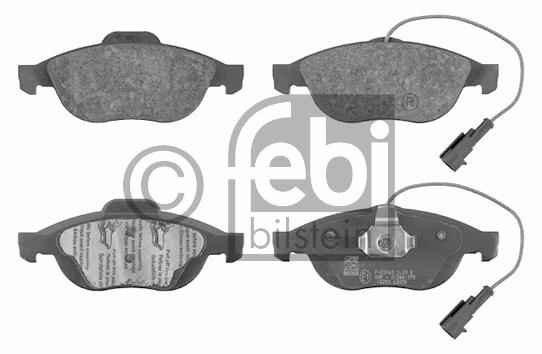 Kit de plaquettes de frein, frein à disque - FEBI BILSTEIN - 16293