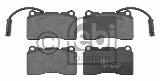 Kit de plaquettes de frein, frein à disque - FEBI BILSTEIN - 16295