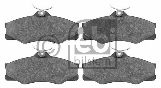 Kit de plaquettes de frein, frein à disque - FEBI BILSTEIN - 16298