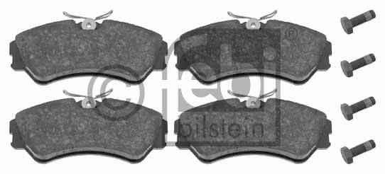 Kit de plaquettes de frein, frein à disque - FEBI BILSTEIN - 16302