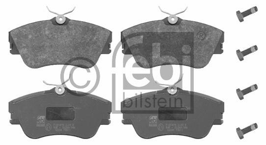 Kit de plaquettes de frein, frein à disque - FEBI BILSTEIN - 16304