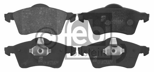 Kit de plaquettes de frein, frein à disque - FEBI BILSTEIN - 16306
