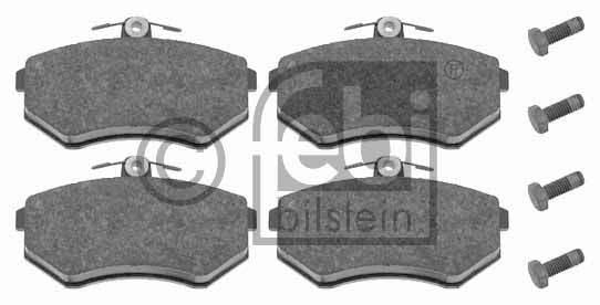 Kit de plaquettes de frein, frein à disque - FEBI BILSTEIN - 16308