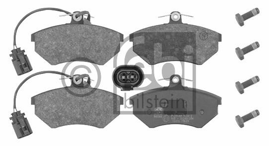 Kit de plaquettes de frein, frein à disque - FEBI BILSTEIN - 16316