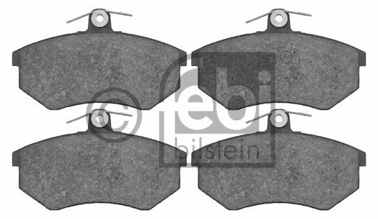 Kit de plaquettes de frein, frein à disque - FEBI BILSTEIN - 16318