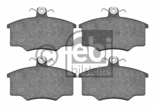 Kit de plaquettes de frein, frein à disque - FEBI BILSTEIN - 16320