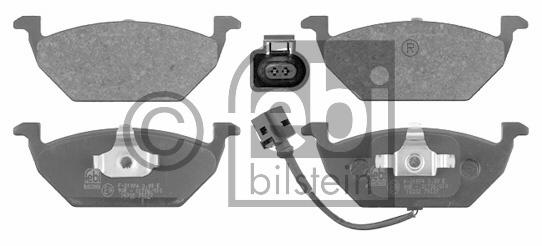 Kit de plaquettes de frein, frein à disque - FEBI BILSTEIN - 16332