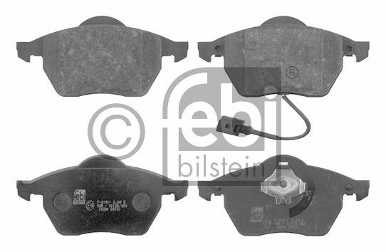 Kit de plaquettes de frein, frein à disque - FEBI BILSTEIN - 16334
