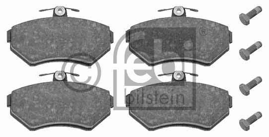 Kit de plaquettes de frein, frein à disque - FEBI BILSTEIN - 16336