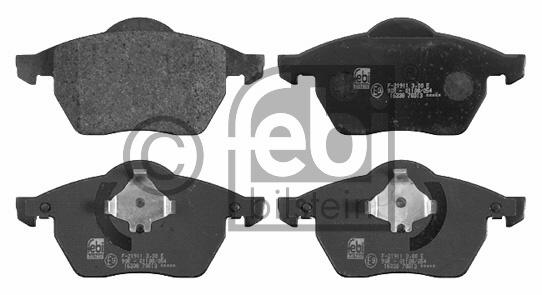 Kit de plaquettes de frein, frein à disque - FEBI BILSTEIN - 16338