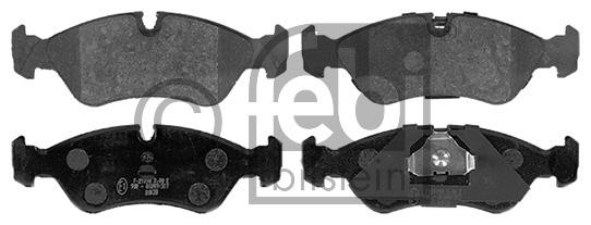 Kit de plaquettes de frein, frein à disque - FEBI BILSTEIN - 16339