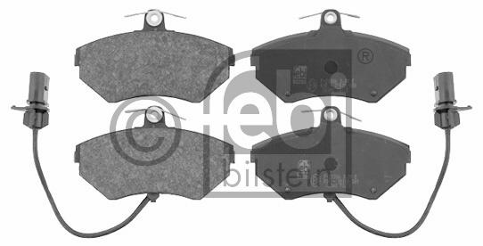 Kit de plaquettes de frein, frein à disque - FEBI BILSTEIN - 16340
