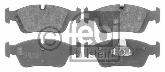 Kit de plaquettes de frein, frein à disque - FEBI BILSTEIN - 16343