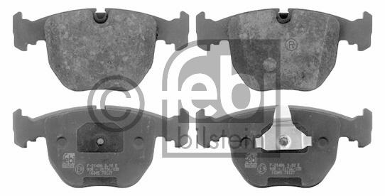 Kit de plaquettes de frein, frein à disque - FEBI BILSTEIN - 16345