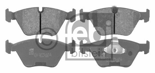 Kit de plaquettes de frein, frein à disque - FEBI BILSTEIN - 16349