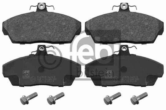 Kit de plaquettes de frein, frein à disque - FEBI BILSTEIN - 16355