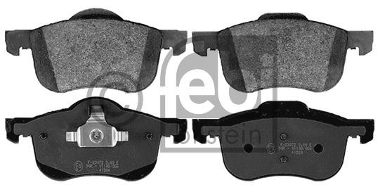 Kit de plaquettes de frein, frein à disque - FEBI BILSTEIN - 16359
