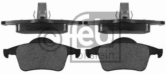 Kit de plaquettes de frein, frein à disque - FEBI BILSTEIN - 16360