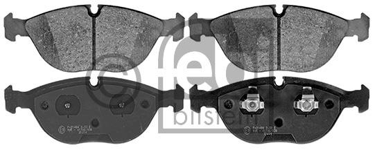 Kit de plaquettes de frein, frein à disque - FEBI BILSTEIN - 16366