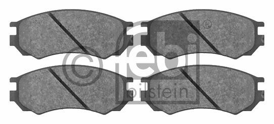 Kit de plaquettes de frein, frein à disque - FEBI BILSTEIN - 16367