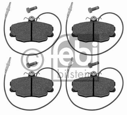 Kit de plaquettes de frein, frein à disque - FEBI BILSTEIN - 16369