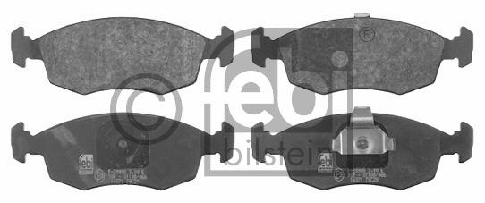 Kit de plaquettes de frein, frein à disque - FEBI BILSTEIN - 16371