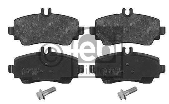 Kit de plaquettes de frein, frein à disque - FEBI BILSTEIN - 16373