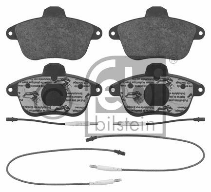 Kit de plaquettes de frein, frein à disque - FEBI BILSTEIN - 16377