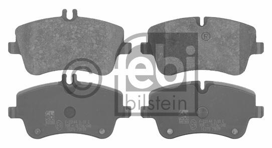 Kit de plaquettes de frein, frein à disque - FEBI BILSTEIN - 16378