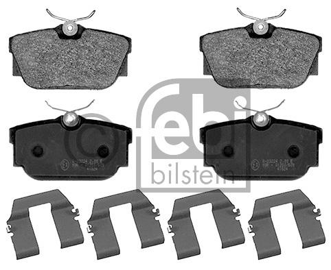 Kit de plaquettes de frein, frein à disque - FEBI BILSTEIN - 16382