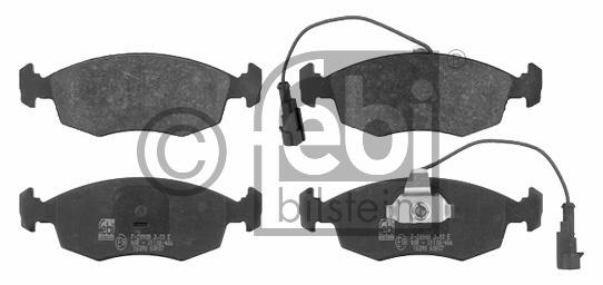 Kit de plaquettes de frein, frein à disque - FEBI BILSTEIN - 16390