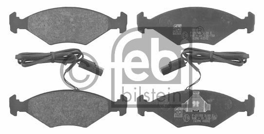 Kit de plaquettes de frein, frein à disque - FEBI BILSTEIN - 16396