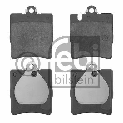 Kit de plaquettes de frein, frein à disque - FEBI BILSTEIN - 16399