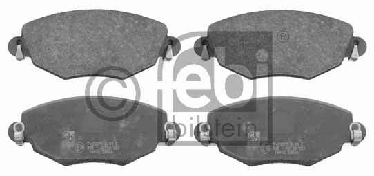 Kit de plaquettes de frein, frein à disque - FEBI BILSTEIN - 16402