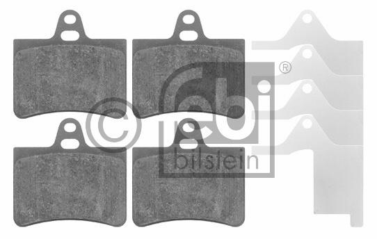 Kit de plaquettes de frein, frein à disque - FEBI BILSTEIN - 16420