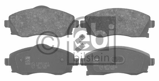 Kit de plaquettes de frein, frein à disque - FEBI BILSTEIN - 16423