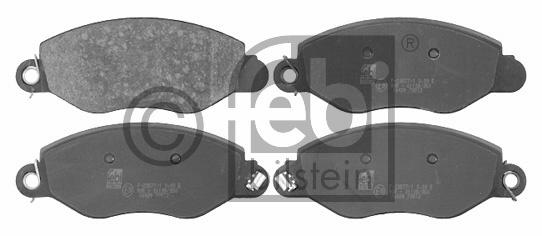 Kit de plaquettes de frein, frein à disque - FEBI BILSTEIN - 16424