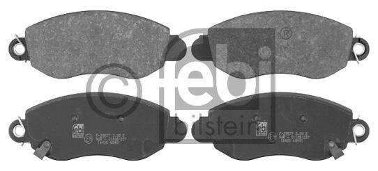 Kit de plaquettes de frein, frein à disque - FEBI BILSTEIN - 16425