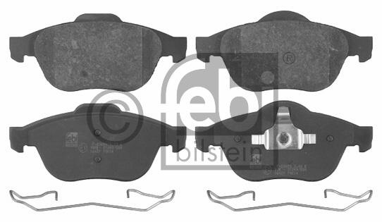 Kit de plaquettes de frein, frein à disque - FEBI BILSTEIN - 16427