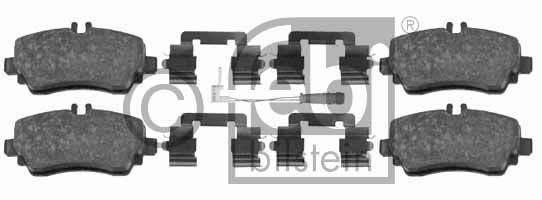Kit de plaquettes de frein, frein à disque - FEBI BILSTEIN - 16439