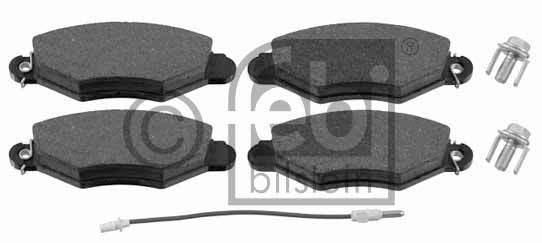 Kit de plaquettes de frein, frein à disque - FEBI BILSTEIN - 16441