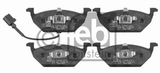Kit de plaquettes de frein, frein à disque - FEBI BILSTEIN - 16446