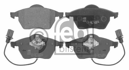 Kit de plaquettes de frein, frein à disque - FEBI BILSTEIN - 16447